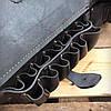 Патронташ поясной закрытый на 39 патр., двухрядный с кож. лямками. Черный (кожа), фото 4