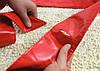Пояс Корсет широкий красный, фото 4