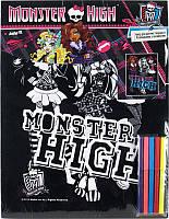 Раскраска с бархатом A3 +5 фломастеров KITE 2014 Monster High 156 (MH14-156K)