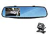 Видеоегистратор Зеркало DVR 138 Full HD + Камерой Заднего Вида
