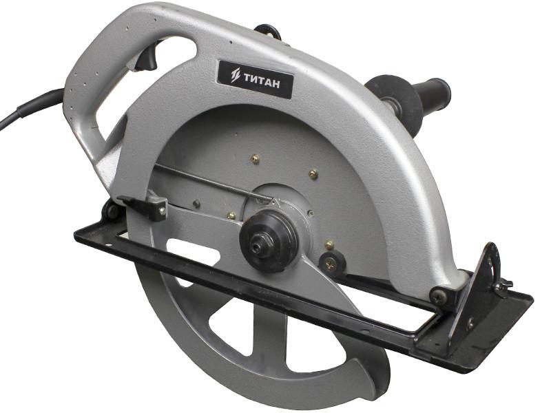 Большая дисковая пила Титан ПЦП18-335 (1,8 кВт) + фирменный диск
