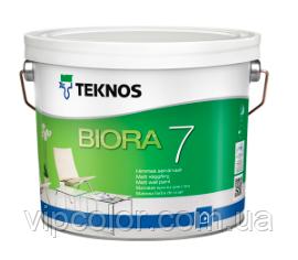 TEKNOS BIORA 7 Матовая краска для стен База 1 2,7л
