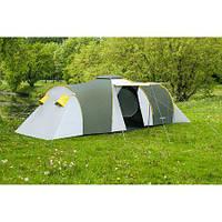 Туристическая палатка 6-ти местная Nadir Pro 6, зеленый, клеенные швы