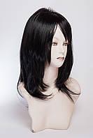 Длинный ровный парик №14,цвет черный