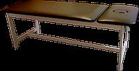 Массажная кушетка стационарная деревянная PR_006 Коричневый