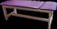 Массажная кушетка стационарная деревянная PR_006 Фиолетовый