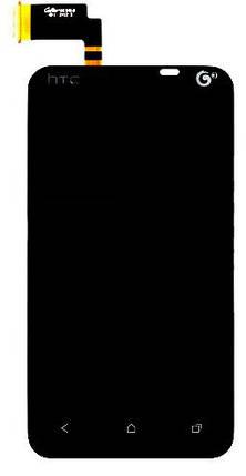 Модуль HTC Desire VT T328t black дисплей экран, сенсор тач скрин НТС, фото 2