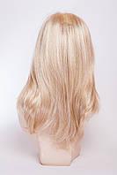 Длинный ровный парик №14,цвет мелирование пшеничный с белым