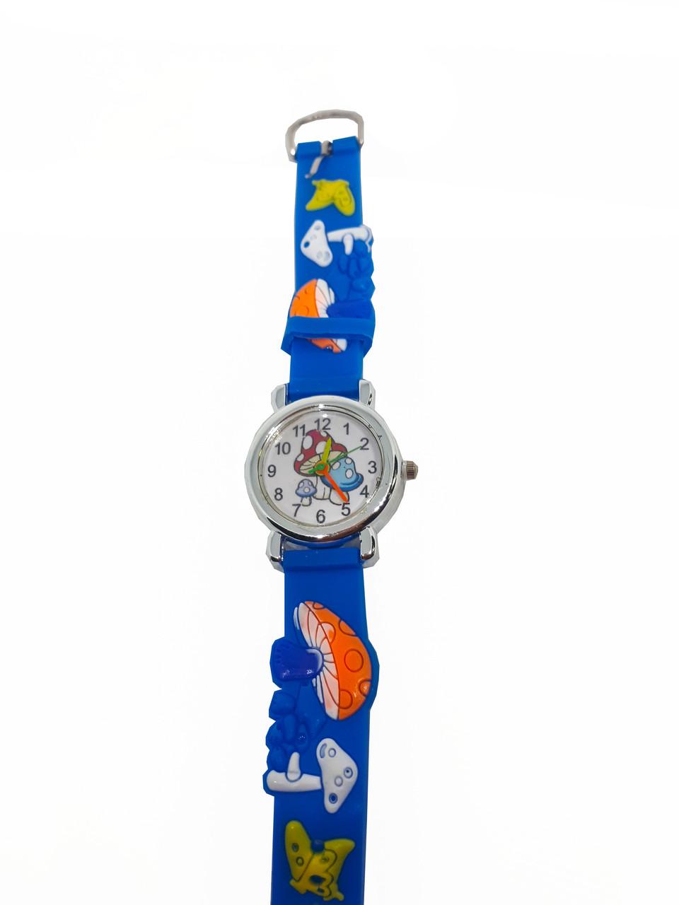 Часы детские  Гриб Синий