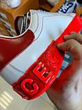 Трендовые Мужские Кроссовки Dolce Gabbana белые Качество Премиум Молодежные Дольче Габбана реплика 40-45рр, фото 3
