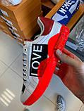 Трендовые Мужские Кроссовки Dolce Gabbana белые Качество Премиум Молодежные Дольче Габбана реплика 40-45рр, фото 4