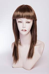Длинный ровный парик №15,цвет русый