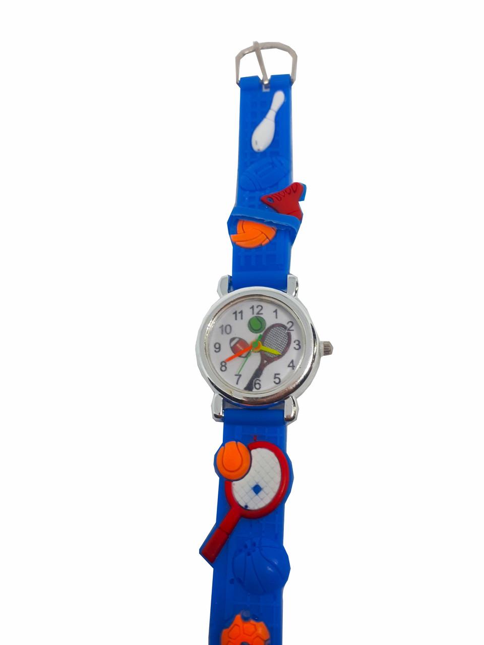 Часы детские Теннис Синий