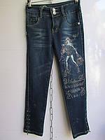 """Детские джинсы на девочку арт. HC1603 (7-13 лет) """"Kinder-1"""" ZL-1384"""