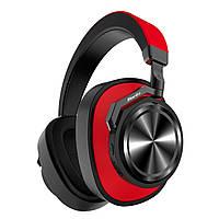 Беспроводные наушники Bluedio T6S красный