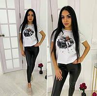 Стильная футболка с цифровой печатью, размеры S M L XL Турция