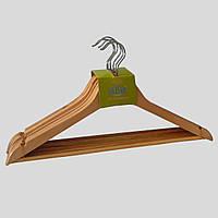 Деревянные плечики в комплекте 6 шт