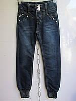"""Детские джинсы на девочку арт. HC1201 (7-13 лет) """"Kinder-1"""" ZL-1384"""