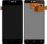 Модуль FLY IQ4516 Tornado Slim black дисплей экран, сенсор тач скрин Флай