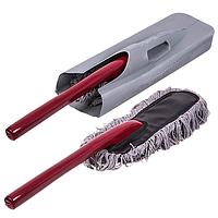 Щетка для сметания пыли антистатик плоская деревянная ручка