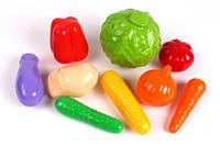 """Набор игрушечных продуктов """"Овощи"""" (9 эл) 5323"""