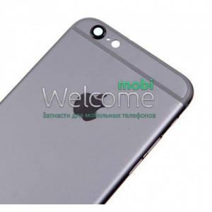Задняя крышка IPhone 6 Plus black, сменная панель айфон, фото 2