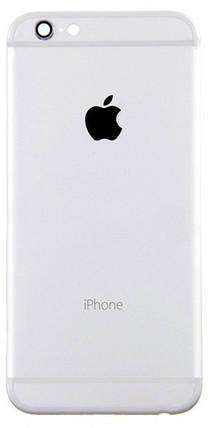 Задняя крышка IPhone 6 Plus silver, сменная панель айфон, фото 2