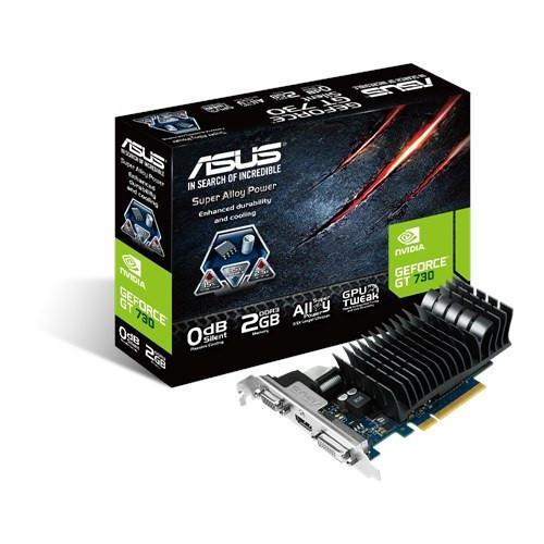 Видеокарта GeForce GT730, Asus, 2 Гб DDR5, 64-bit (GT730-2GD5-BRK), відеокарта