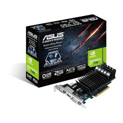 Видеокарта GeForce GT730, Asus, 2 Гб DDR5, 64-bit (GT730-2GD5-BRK), відеокарта, фото 2