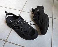 Мужские кожанные босоножки сандалии ECCO (ЭККО), модель BIOM DELTA.