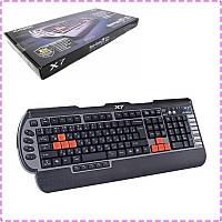 Игровая клавиатура A4tech X7-G800V, USB, геймерская клавиатура