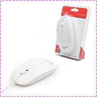Мышь Gembird MUS-103-W, оптика, White USB, мышка