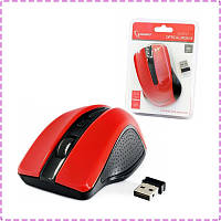 Беспроводная мышь Gembird MUSW-101-R, Red USB, мышка