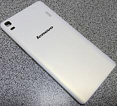 Задняя крышка Lenovo A7000 white, сменная панель леново а7000, фото 2