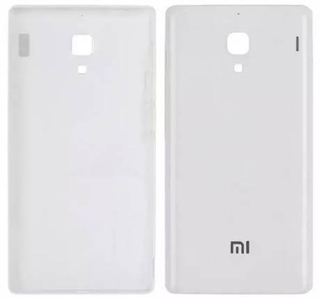 Задняя крышка Xiaomi Redmi Note white, сменная панель сяоми ксиоми редми нот, фото 2
