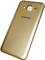 Задняя крышка Samsung Galaxy J5 (J500H, 2015) gold, сменная панель самсунг