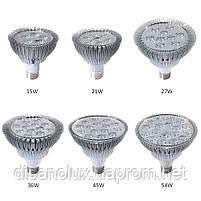 Фито лампа для растений Led 45W  E27 230V, фото 6