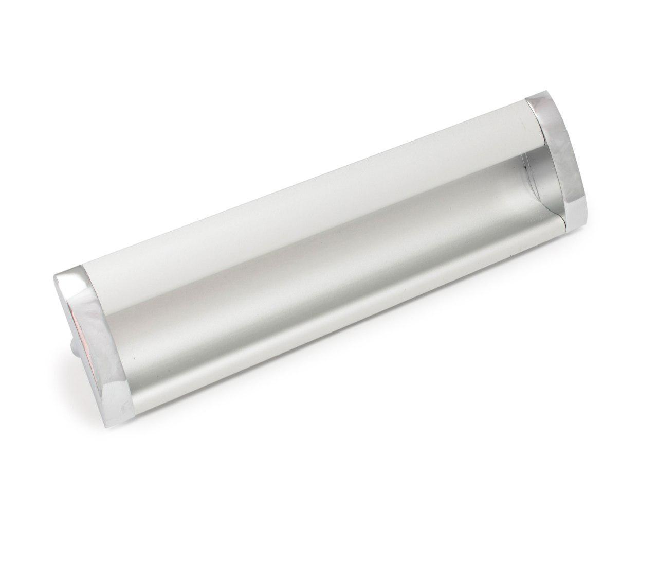 Ручка меблева Ozkardesler 14.200 GOммE BOY KULP 160мм Хром Матовий Хром