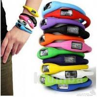 Силиконовые часы, разные цвета