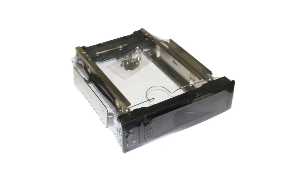Карман внутр 5,25' Maiwo M002A для HDD 3,5' SATA через SATA безвин. крепл. нерж. сталь черн. замок+