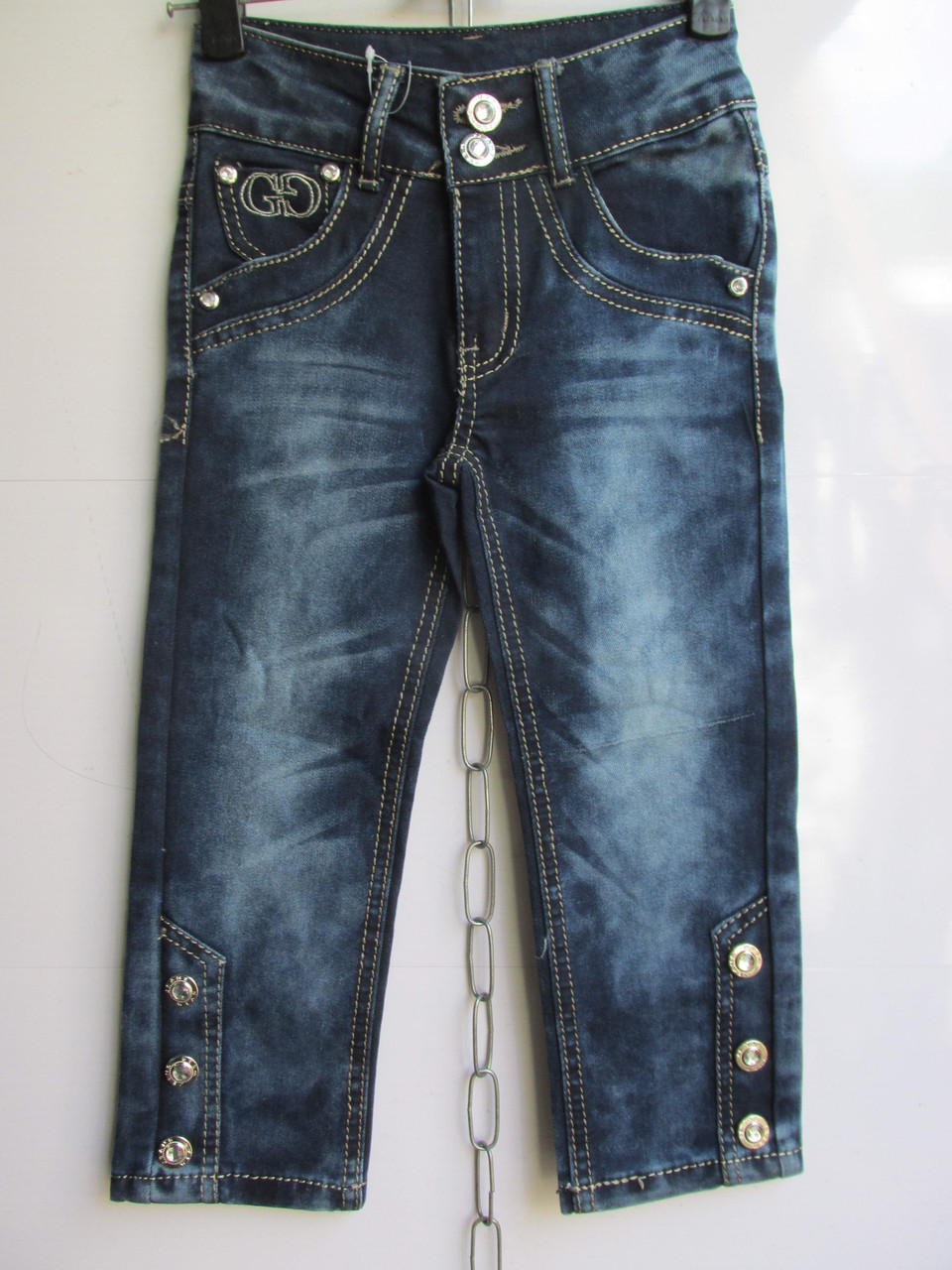 """Детские джинсы на девочку арт. HZ-305 (5-9 лет) """"Kinder-1"""" ZL-1384"""