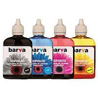 Комплект чернил Barva Canon/HP Universal №4, 4 x 90 г (I-BAR-CU4-090-MP), краска для принтера кэнон/нр