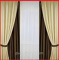 Готовые шторы для спальни 1