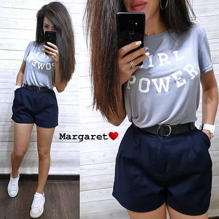 Костюм шорты с карманами+футболка, размеры S. M, фото 2