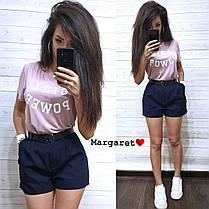 Костюм шорты с карманами+футболка, размеры S. M, фото 3