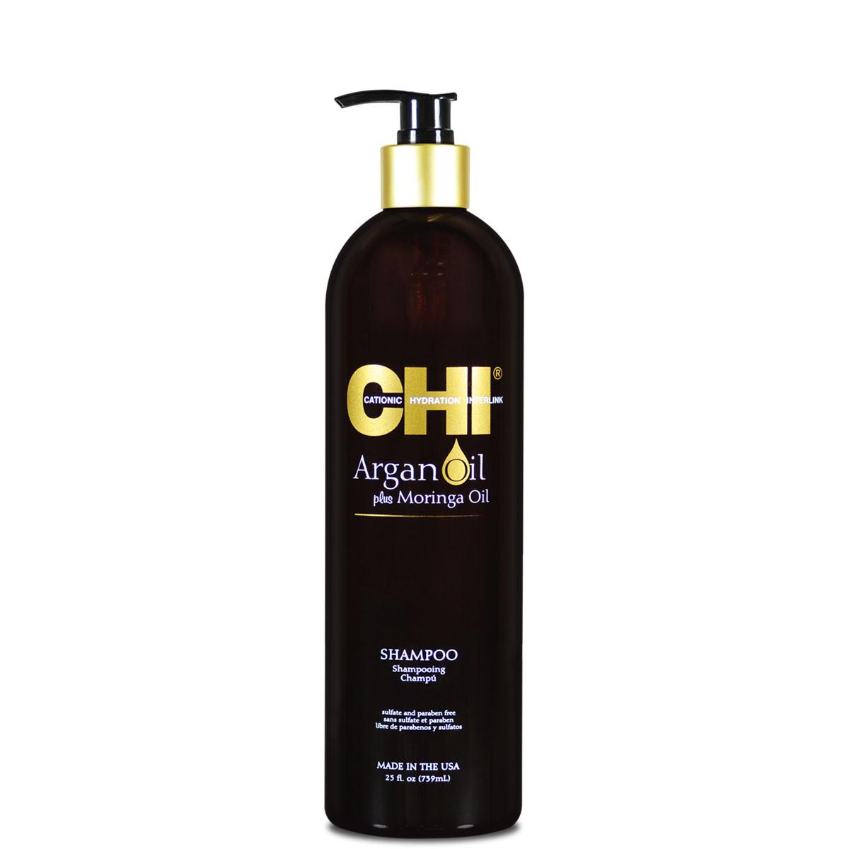 Аргановый шампунь для волос CHI Argan Oil Shampoo739ml