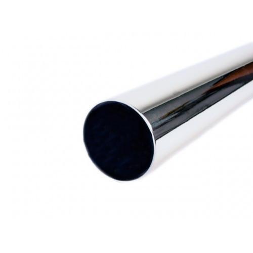Труба 25мм хром 0,6мм L=3000  LS