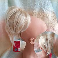"""Хвост короткий """"рожки"""" на крабе блонд омбре 6454А -LG26T613A"""