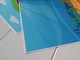 Ткань оксфорд с принтом ФЕРМА И ОГОРОД, 30x40 см, фото 3