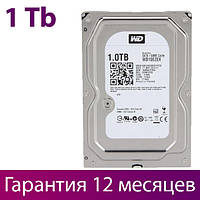 "Жесткий диск для компьютера 3.5"" 1 Тб/Tb Western Digital, SATA3, 64Mb, 7200 rpm (WD10EZEX), винчестер hdd"